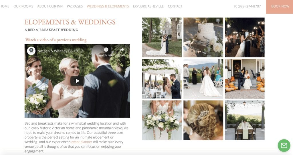 , How to Market Your Inn or B&B As a Wedding Venue, Odysys
