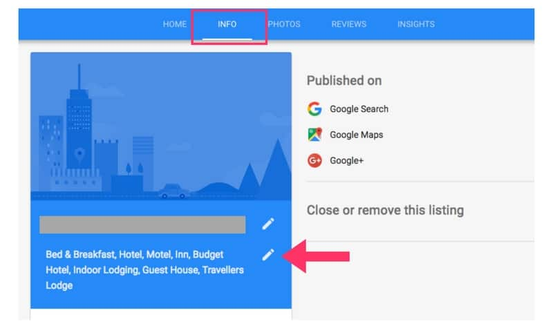 how to add categories to your google mybusiness listing