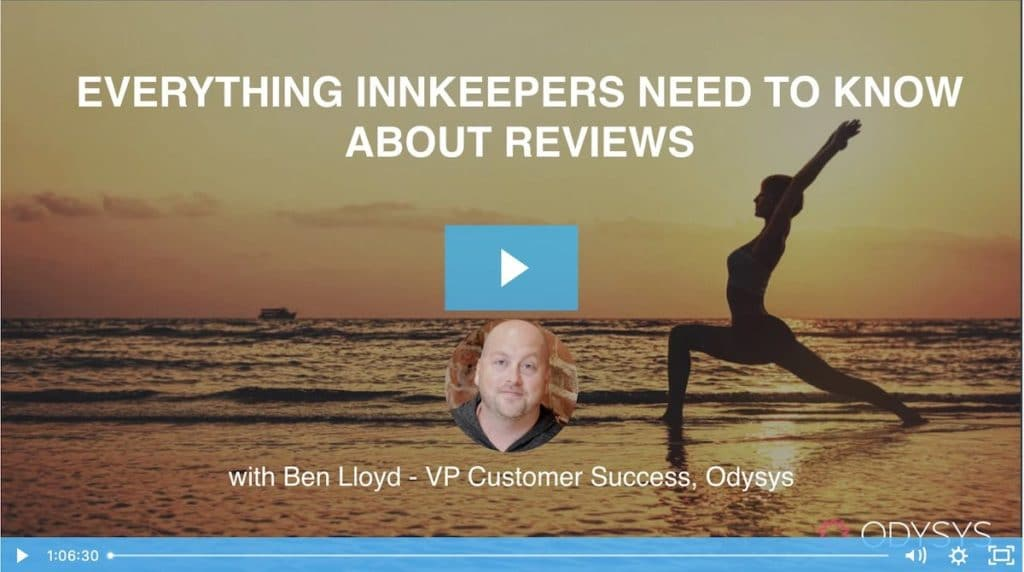 , Everything Hotel Marketers Need to Know About Reviews, Odysys
