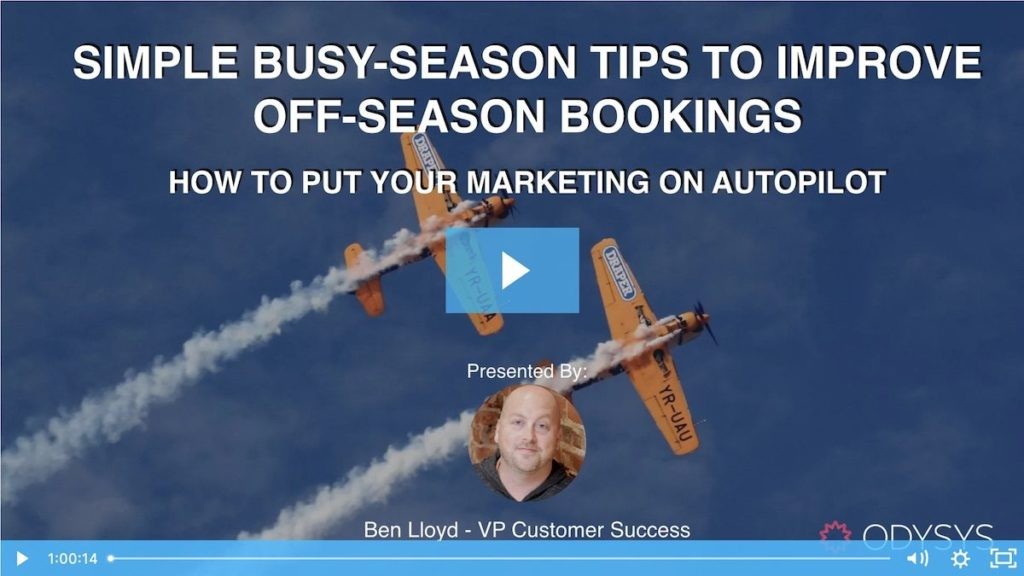 , Simple Busy-Season Tips to Improve Off-Season Bookings, Odysys