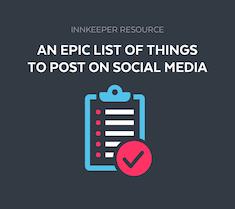 , 5 Essential Social Media Strategies for Innkeepers, Odysys