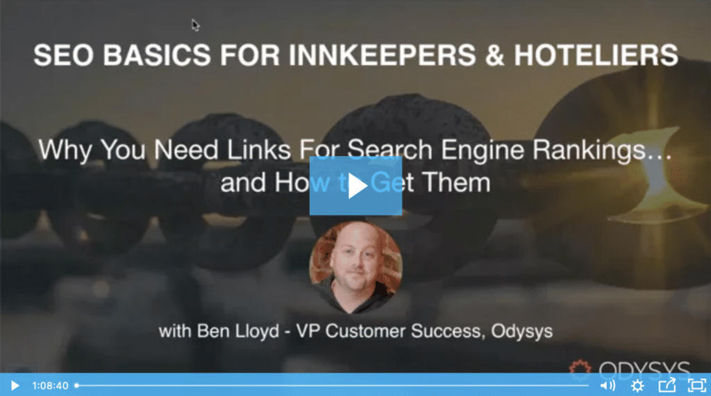 , Why You Need Links for Search Engine Rankings, Odysys