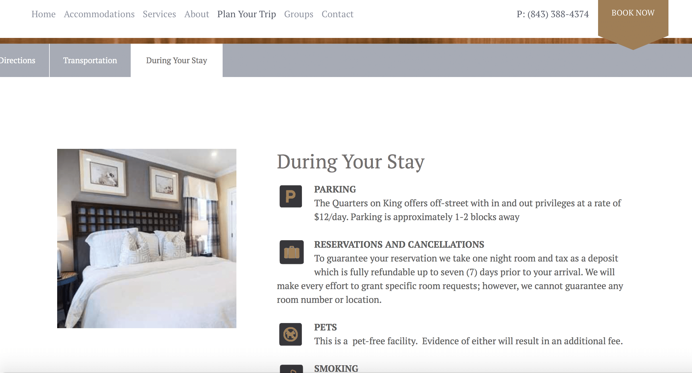 , The Four Pages Every B&B Website Needs to Have, Odysys