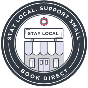 Stay Small Badge -Version 1