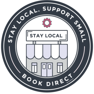 , Stay Local Badge, Odysys
